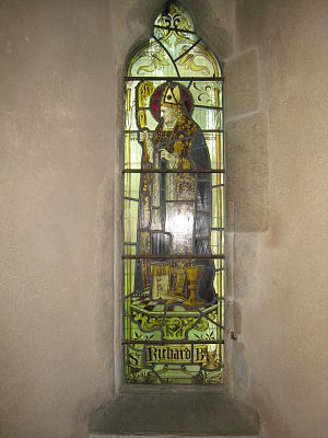 St Catherine of Siena Church, Cocking - The memorial window to Rev. Ash