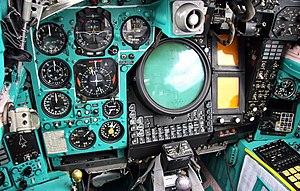 Cockpit of Mikoyan-Gurevich MiG-31 (8).jpg