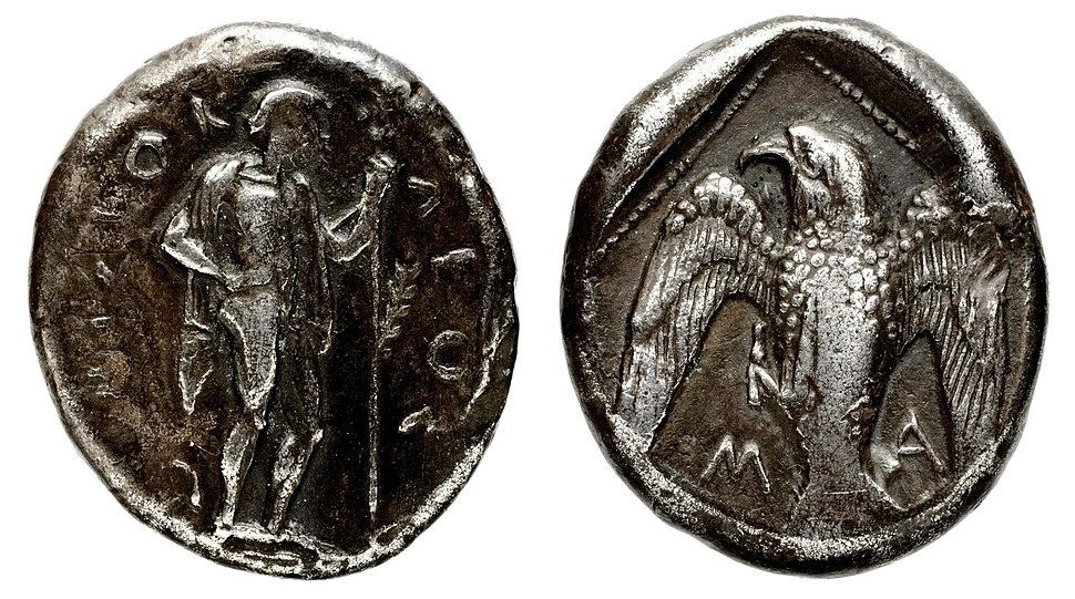 Coinage of Themistocles Magnesia
