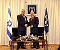 Colin Powell & Moshe Katsav 2003-05-11.jpg