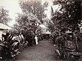 Collectie NMvWereldculturen, TM-60005032, Foto, 'Een man in zijn tuin, Batavia', fotograaf Woodbury & Page, 1857-1872.jpg