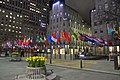 Collection of flags at the Rockefeller Center.jpg