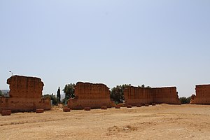 Kingdom of Tlemcen - Columns from the Mansura mosque