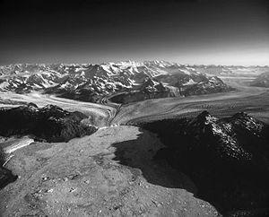 Columbia Glacier (Alaska) - Columbia Glacier from Prince William Sound