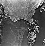 Columbia Glacier, Calving Terminus, Heather Island, January 19, 1977 (GLACIERS 1304).jpg