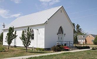 Quinn, South Dakota - Quinn Community Center in 2017