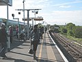 Commuters at South Bermondsey station - geograph.org.uk - 1853054.jpg
