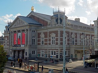 Museumkwartier (Amsterdam) - Concertgebouw, Museumplein.