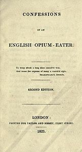Confessions of an English Opium-Eater cover 1823.jpg