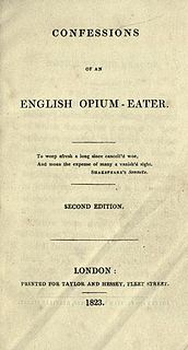 <i>Confessions of an English Opium-Eater</i> book