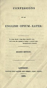 Confessions of an English Opium-Eater cover