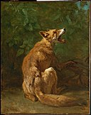 Constant Troyon - Fox in a Trap - 21.8 - Museum of Fine Arts.jpg