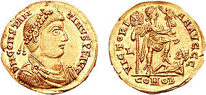 End of Roman rule in Britain - Coin of Constantine III.