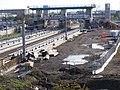 Construction of Meridian Water Station, Angel Road, N18 - 31590001888.jpg