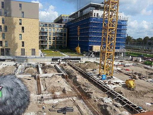 Construction site, Magistratenlaan 's-Hertogenbosch
