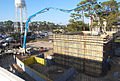 Construction site with concrete pump truck.JPG