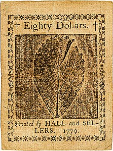 Continental Currency $80 banknote reverse (January 14, 1779).jpg