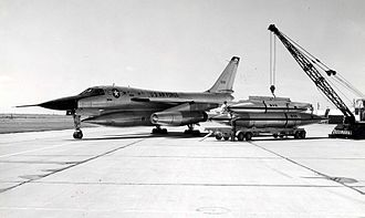Convair B-58 Hustler - RB-58A with two component pod (TCP)