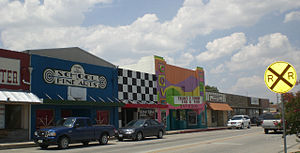 Copperas Cove, Texas - Downtown Copperas Cove (prior to 2010)