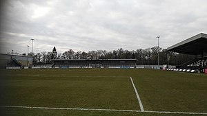 Corby Town F.C. - James Ashworth VC Memorial Stand