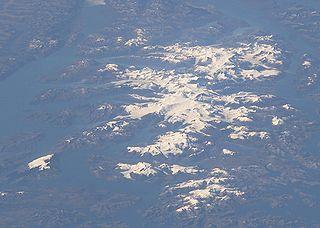 Cordillera Darwin mountain range