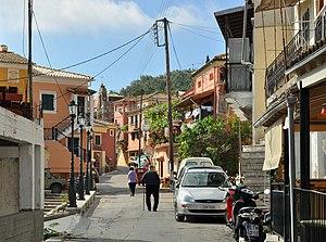 Sinarades - Sinarades: main street