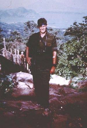 Cork Graham - Cork Graham in El Salvador, 1986
