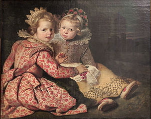 Magdalena (born 1618) and Jan-Baptiste de Vos (born 1619), the Children of the Painter