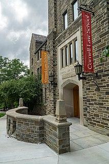 Cornell Law School Law school of Cornell University
