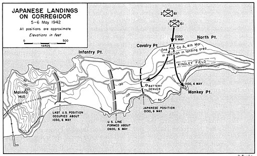Corregidor Landings May 1942