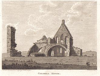Barony and Castle of Corsehill - Image: Corsehill House