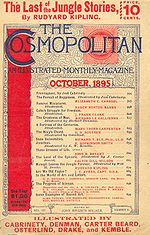 October 1895 issue: The Cosmopolitan, illustrated.