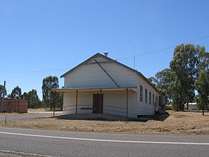 Costerfield - Public hall at Costerfield, 2008