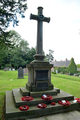 Cotgrave - The memorial to the dead of both world wars.