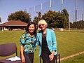 Councilmember Sally Bagshaw and Josephine Cheng, September 2012 (7980529342).jpg
