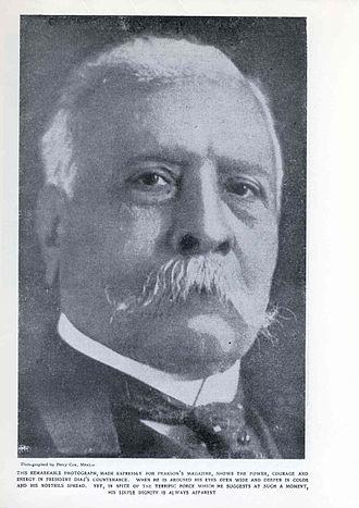 Francisco I. Madero - Photo of Porfirio Díaz (1830–1915) that accompanied the Creelman interview in Pearson's Magazine (1908).