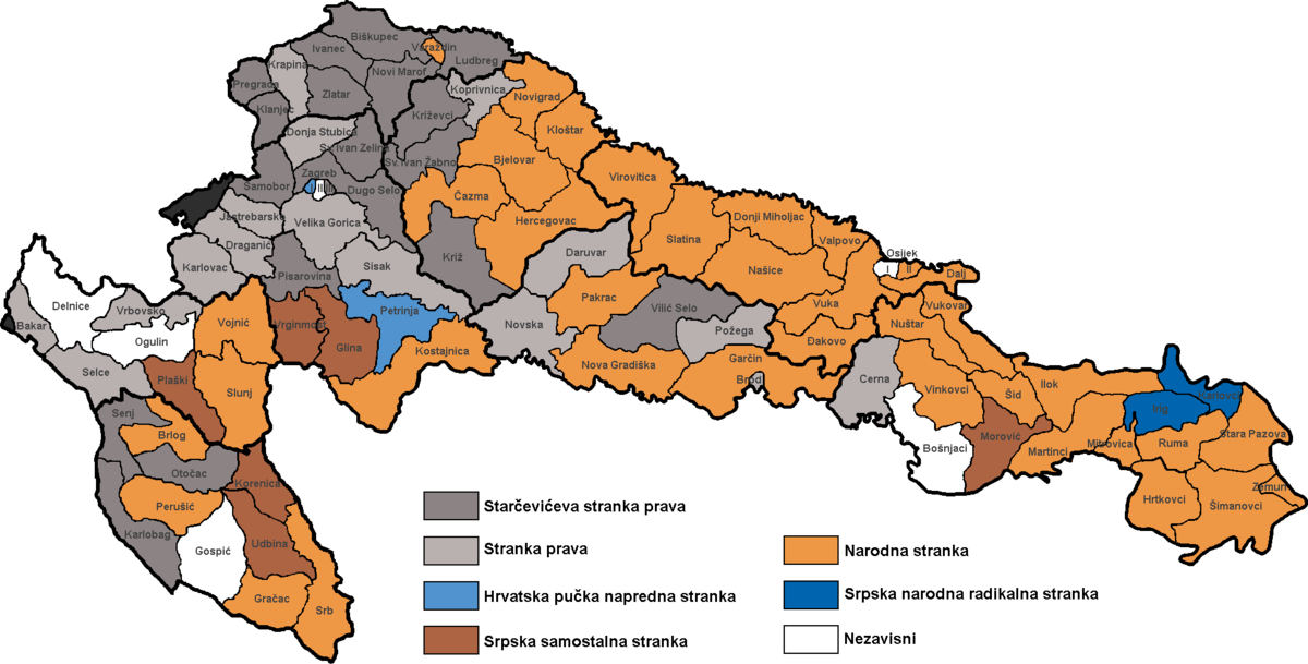 1906 Croatian parliamentary election