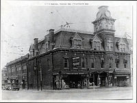 Crofoot block pike and saginaw 1928.jpg