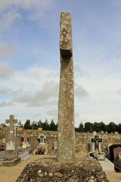 Croix de cimetière (Guillac): tranche