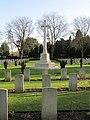 Cross in the cemetery - geograph.org.uk - 1633891.jpg