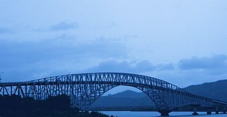 San Juanico Bridge - Image: Crossing the San Juanico Bridge