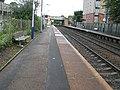 Crossmyloof railway station, looking North-East (geograph 2592144).jpg