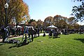 Crowds gathering for Joe Biden at WFU (2968112372).jpg