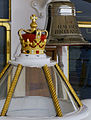 Crown and Bell, Royal Yacht Britannia (6287616225).jpg