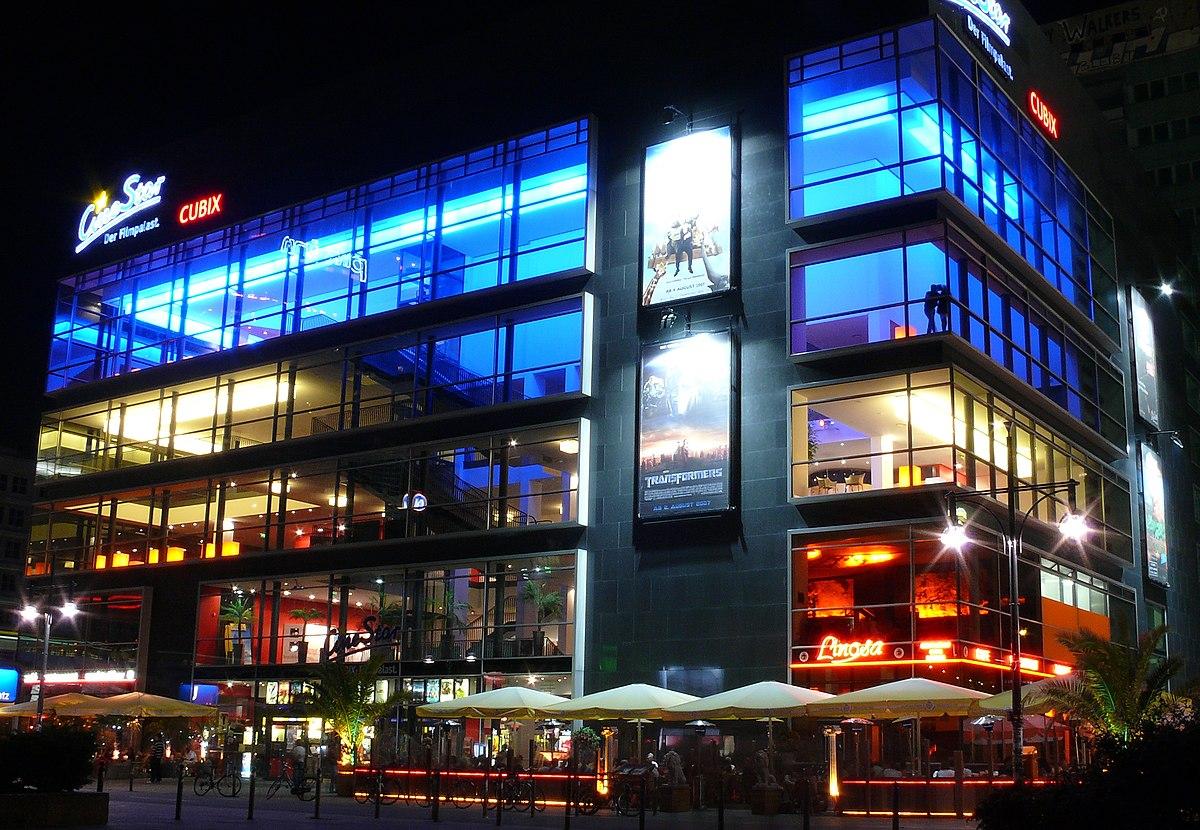 Cinestar Berlin Cubix Am Alexanderplatz Wikidata