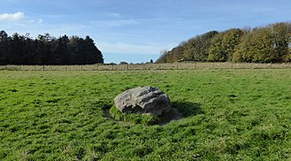 Cuckoo Stone - The Stone, facing the west