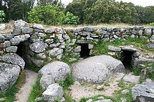 """Torrean civilization - """"Castle"""" of Cucuruzzu"""