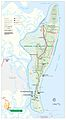 Cumberland Island National Seashore map 2007.08.jpg