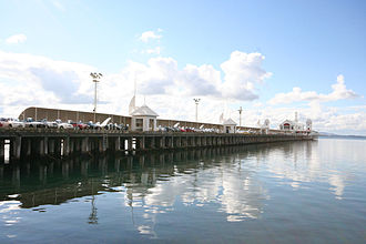 Port of Geelong - Cunningham Pier has been refurbished for tourists.