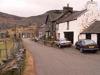 Cwm Penmachno Human settlement in Wales